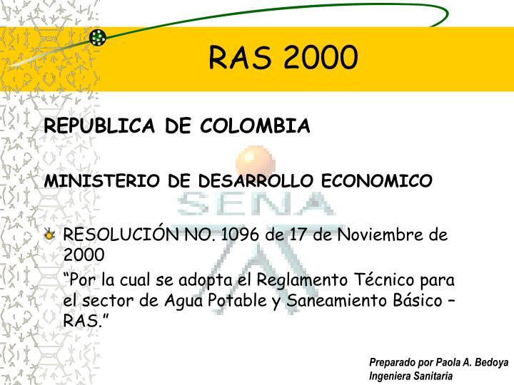 Ras 20001