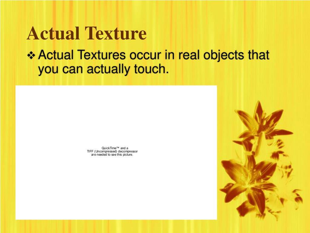 PPT - Texture PowerPoint Presentation - ID:5479956