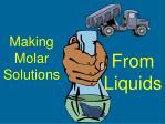 making molar solutions1