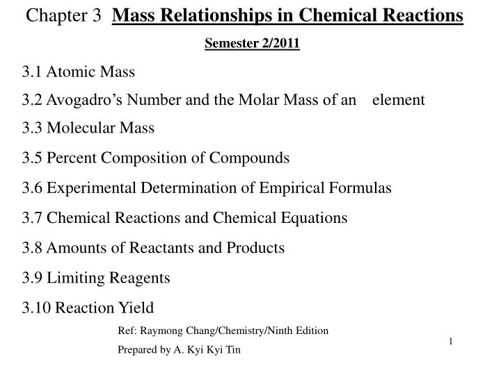 mass relationships in chemical reactions essay The mole relationship in chemical reactions you'll use the mole relationships in a  chemical reaction since matter is conserved in a chemical reaction, mass.