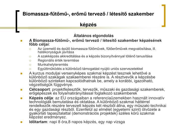 Biomassza-fűtő