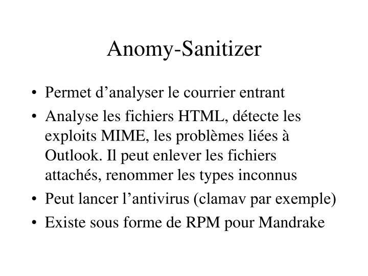 Anomy-Sanitizer
