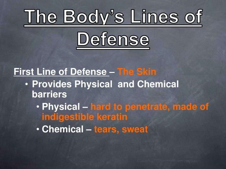 The Body's