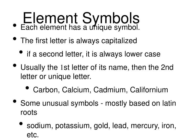 Ppt Unit 2 Chapter 3 Elements Atoms Ions Powerpoint