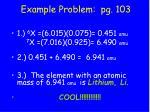 example problem pg 103