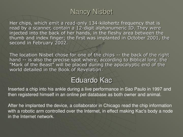 Nancy nisbet