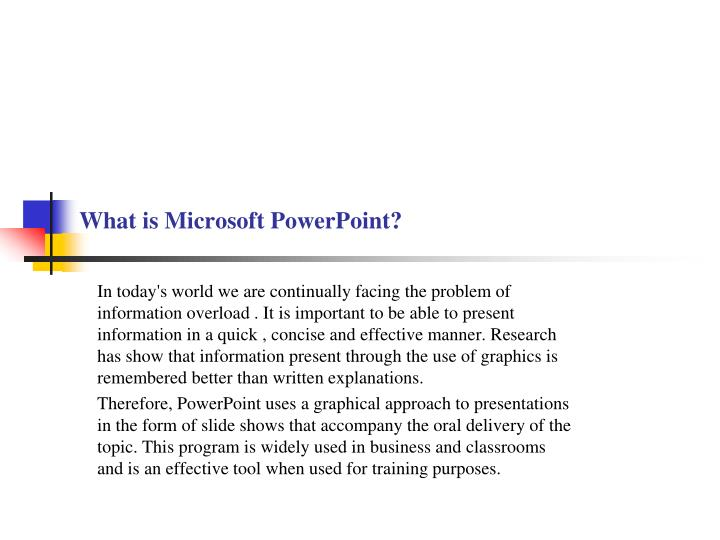 what is microsoft powerpoint n.