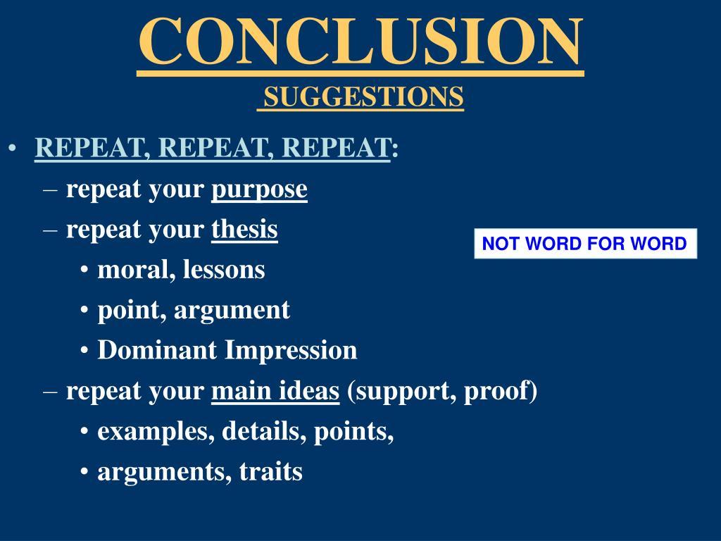 2010 election essays