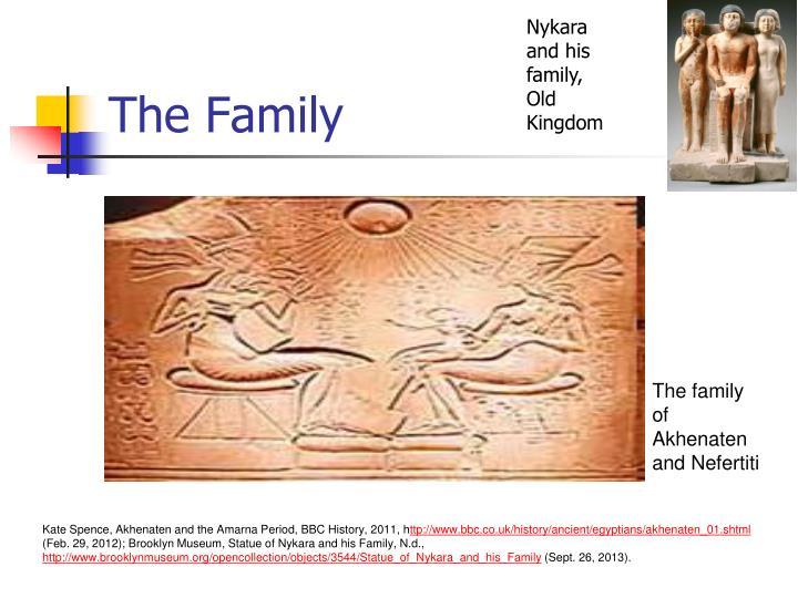 Nykara and his family,