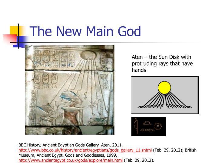 The New Main God
