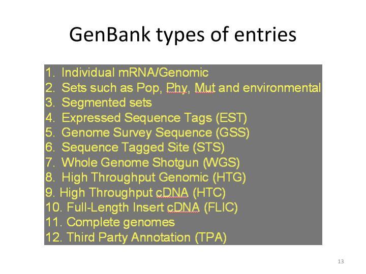 GenBank