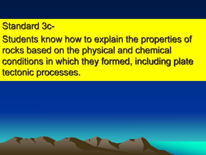 Standard 3c-