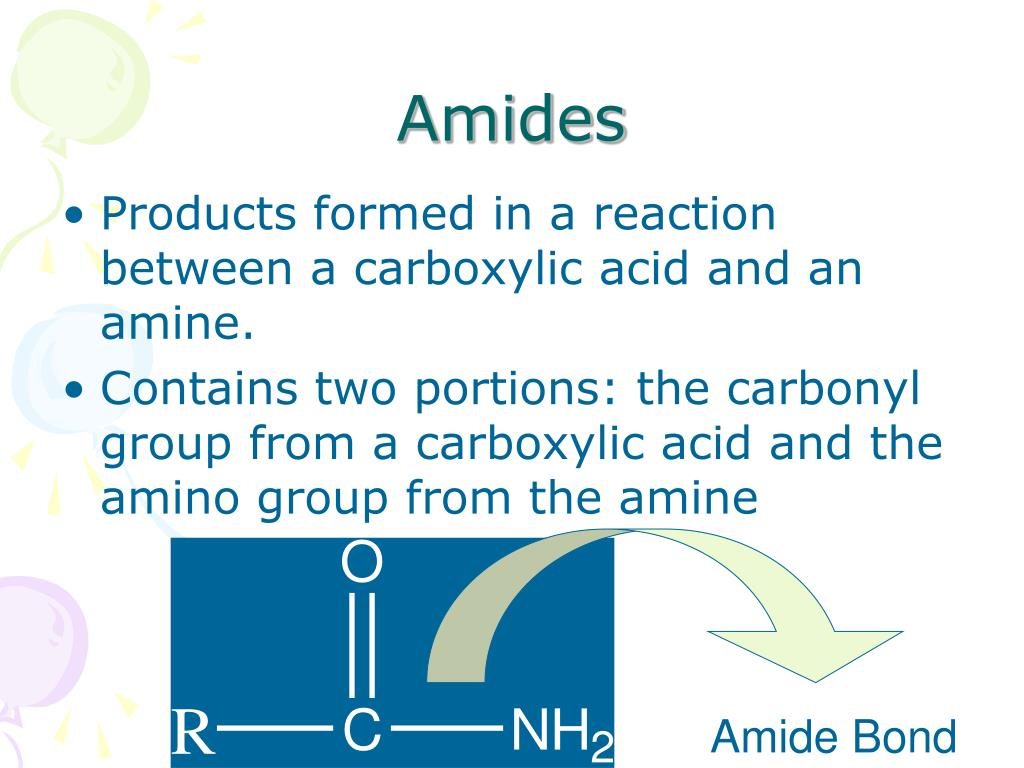 PPT - Amines and Amides PowerPoint Presentation - ID:5481929