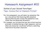 homework assignment 10