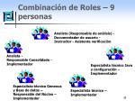 combinaci n de roles 9 personas