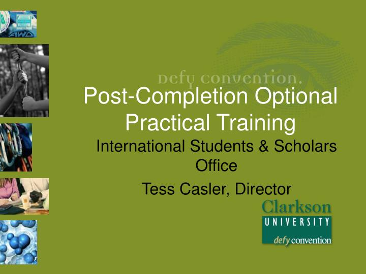 post completion optional practical training