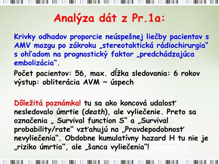 Analýza dát z Pr.1a: