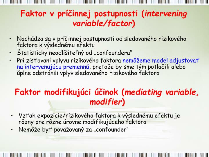 Faktor modifikujúci účinok (