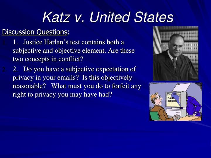 Katz v. United States