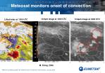 meteosat monitors onset of convection