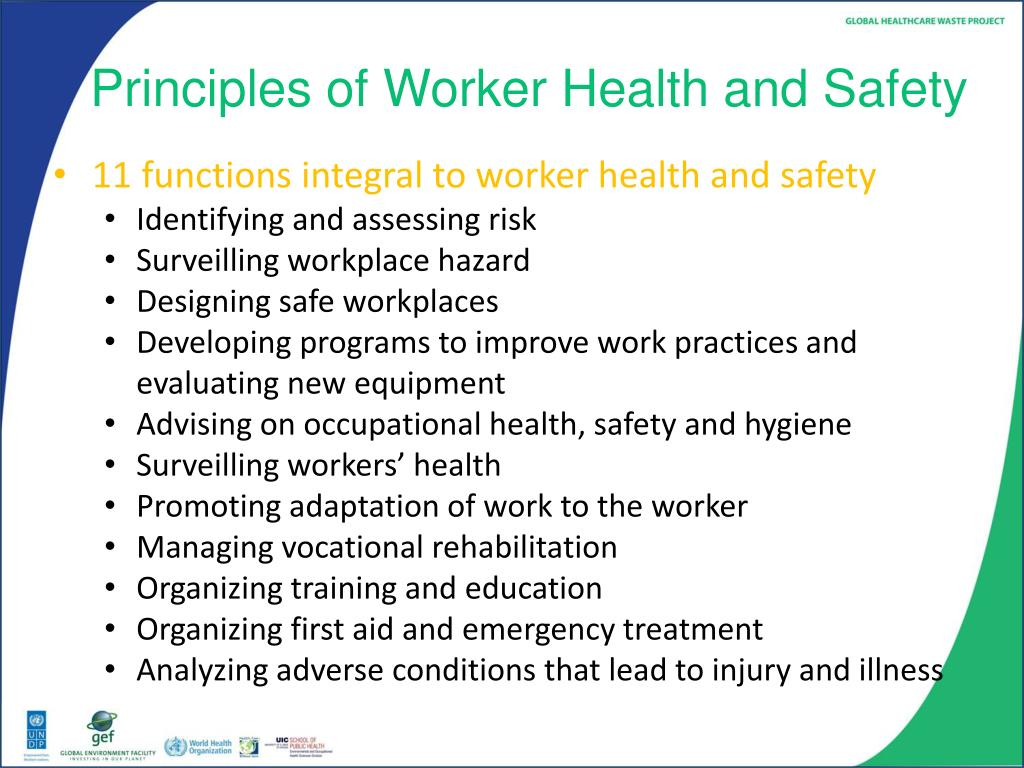 safety health and environment at workplace