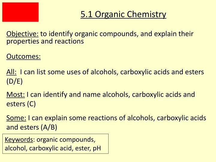 Ppt 5 1 Organic Chemistry Powerpoint Presentation Free Download Id 5483455