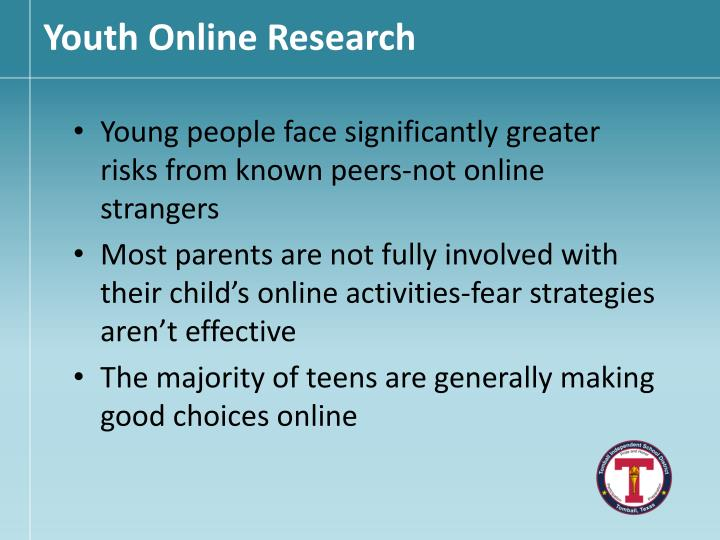 Youth Online Research