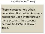 neo orthodox theory3