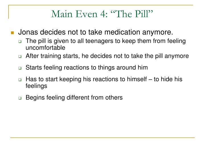 "Main Even 4: ""The Pill"""