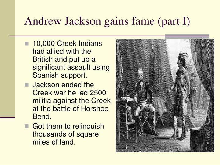 10,000 Creek Indians had allied with the British and put up a significant assault using Spanish support.