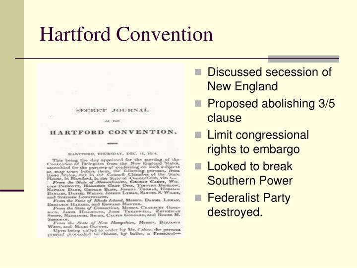 Discussed secession of New England