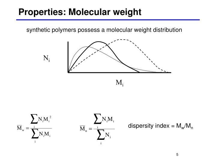 N Molecular Weight PPT - Polymer Biomater...