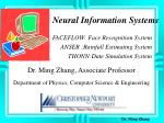 neural information systems