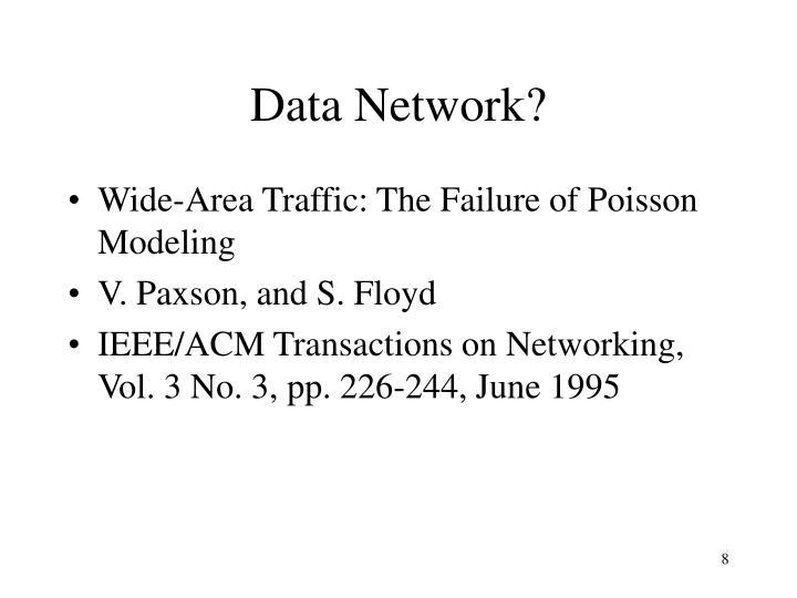 Data Network?