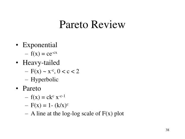 Pareto Review
