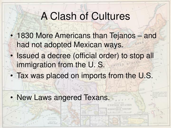 A Clash of Cultures