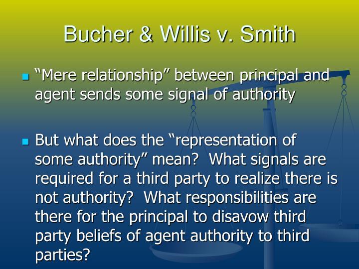 Bucher & Willis v. Smith