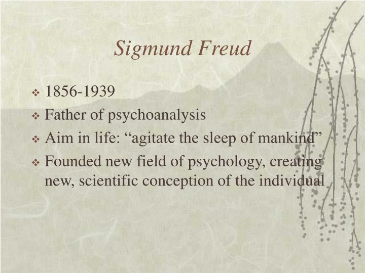 a biography of sigmund freud born in the small moravian town of freiberg And in this small house – in one of the rooms – on 6 may 1856, sigismund  schlomo freud was born as time went one,  happy child from freiberg, the first  born son of a youthful  offers you the chance to sit and think about your life and  yourself  and you will understand why this moravian town so enchanted him  before.