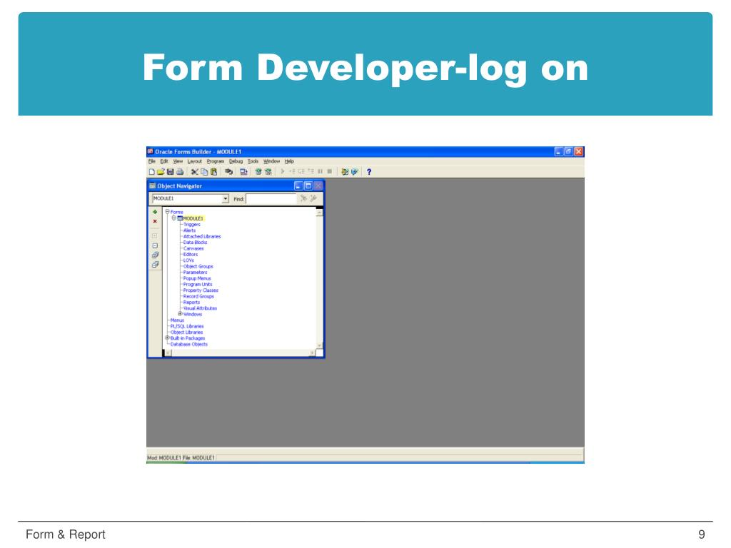 PPT - Oracle Developer Suite PowerPoint Presentation - ID:5486031