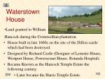 waterstown house