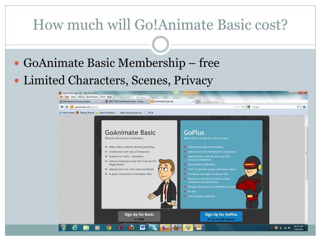 PPT - Go!Animate PowerPoint Presentation - ID:5486458