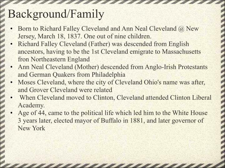 Background family