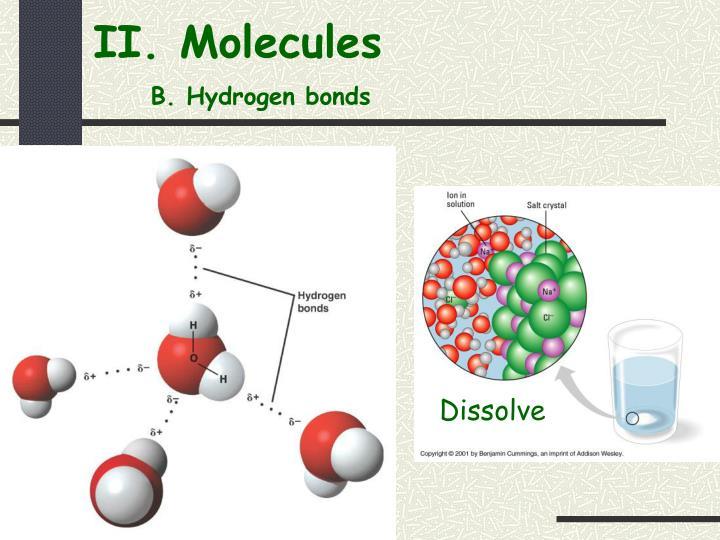 II. Molecules