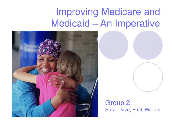 improving medicare and medicaid an imperative