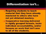 differentiation isn t2