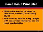 some basic principles1