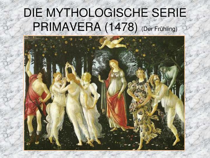 DIE MYTHOLOGISCHE SERIE