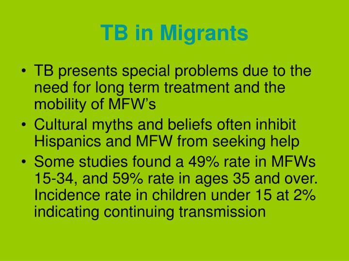 TB in Migrants