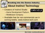 about instinct technology