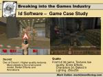 id software game case study1